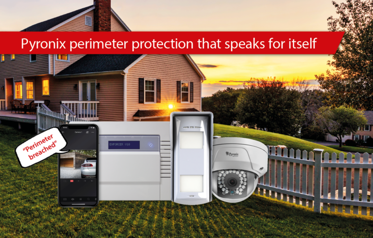 Perimeter protection alarm